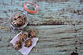 Lemonbites (buckwheat cookies with pumpkin seeds)