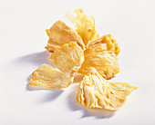 Dried pineapple pieces