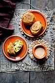 Indian street food - potato fritters - Glutenfree, Vegan
