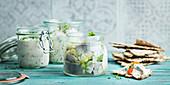 Herrings in jar