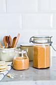 Vegan chipotle and cashew sauce