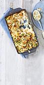 Mac and Cheese mit Trüffelöl und geräuchertem Schellfisch