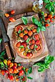 Tomato foccacia