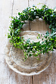 Handmade ivy wreath