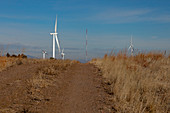 Wind turbines at research centre