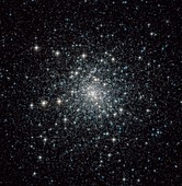 Messier 30 globular star cluster,Hubble image