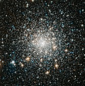 Messier 70 globular star cluster,Hubble image