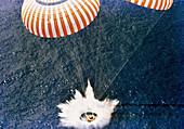 Apollo 15 splashdown,1971