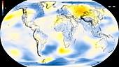 Global warming record,1960-1964