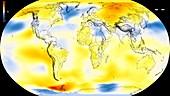 Global warming record,1980-1984