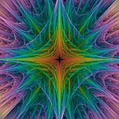Spiky abstract illustration