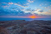 Sunrise in the Judean Desert,Israel