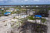 Hurricane Michael aftermath,Florida Panhandle,USA