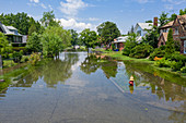 Flooding,Detroit,USA
