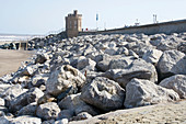 Sea defences,Withernsea,East Yorkshire,UK