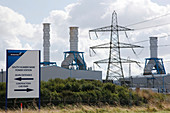 South Humber Bank power station,near Grimsby,UK