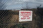 Contaminated land.