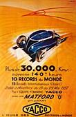 Advertisement for Yacco motor oil, c1937