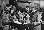 RAF bomber crew, 1941