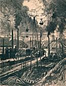 Charleroi, 1911, (1914)