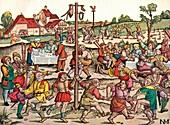 Villagers Celebration, c1530, 1949