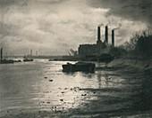 Chelsea Power Station, c1927, (1927)
