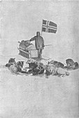 At the South Pole, 1911, (1928)