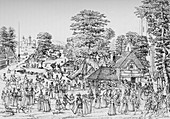 A fete at Horselydown, Southwark, in 1590, 1904