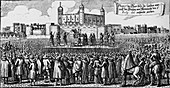 The execution of the Duke of Monmouth, Tower Hill, 1685