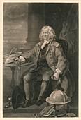 Captain Thomas Coram, 1740