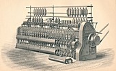Finishing Roving Frame, by Platt, Brothers & Co, 1874