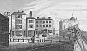 High Street & Garners Library from Marine Parade, 1820