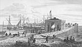 Droit Office & Pier, 1820