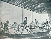Johnsons Pedestrian Hobby-Horse Riding School, 1819