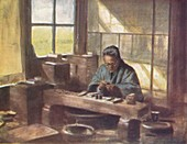 A Cloissonne Worker, c1887, (1901)