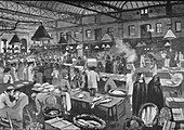 Billingsgate Market, Early Morning, 1891
