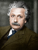 Albert Einstein, German-Swiss-American physicist