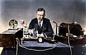 Guglielmo Marconi, Italian physicist and radio pioneer