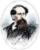 Charles Dickens, 19th century English novelist
