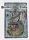 Columbus's Ship, The Santa Maria, (1493), 1912