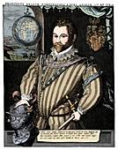 Sir Francis Drake, 16th century, (1910)