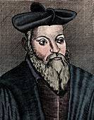 Michel Nostradamus, French physician and astrologer