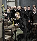 Alexander Graham Bell, Scottish-born American inventor