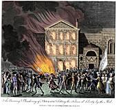 Anti-Catholic Gordon Riots, London, 6-7 June 1780