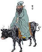 Lao-Tzu, ancient Chinese philosopher
