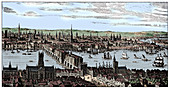General view of London, 1666, (1909)