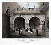 Thames Tunnel, London, 19th century