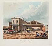 Railway Office, Liverpool, 1831