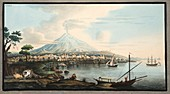 View of Mount Etna from Catania, 1776