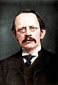 JJ Thomson, British physicist, c1896-c1915